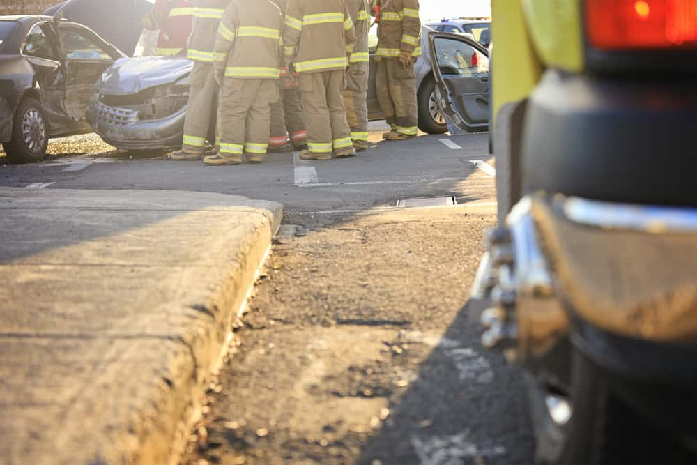Who's at Fault in a Chain-Reaction Accident That Results in Personal Injury?